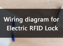 Wiring diagram for 'Electric RFID Lock'